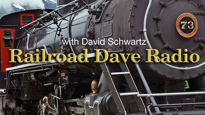 WPKN Radio 89.5-FM: Railroad Dave Radio with David Schwartz | 1st, 2nd, 3rd, and 5th Sundays from 10 PM to 12 midnight